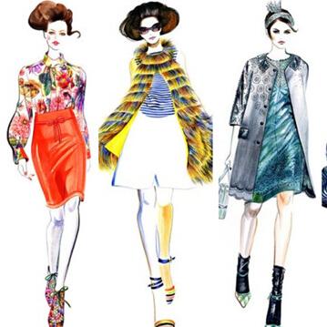 郑州东方服装学校服装设计绘画速成班